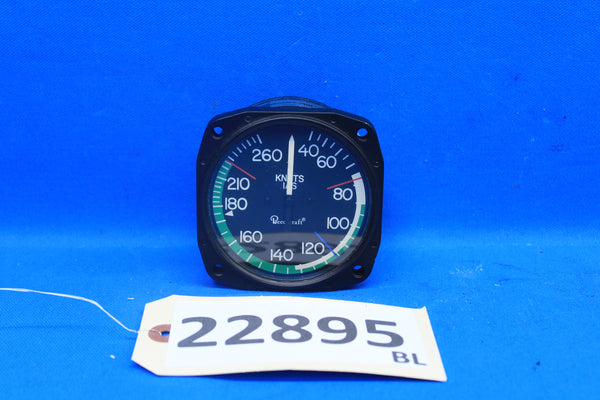 BeechCraft Air Speed Gauge P/N: 115-38403-1 (22895)