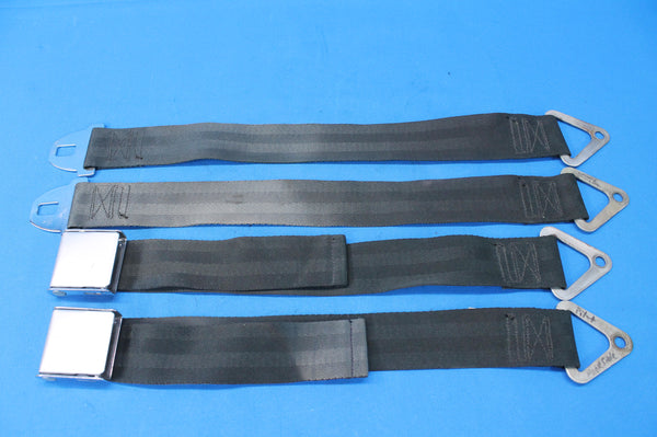 Pair of Aviation Safety Seat Belts P/N: 5000B3 442851 Cessna 402A (26622)