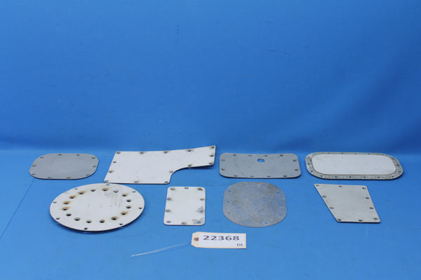 1977 Cessna 414 set of 8 Right Wing Inspection Panels (22368)