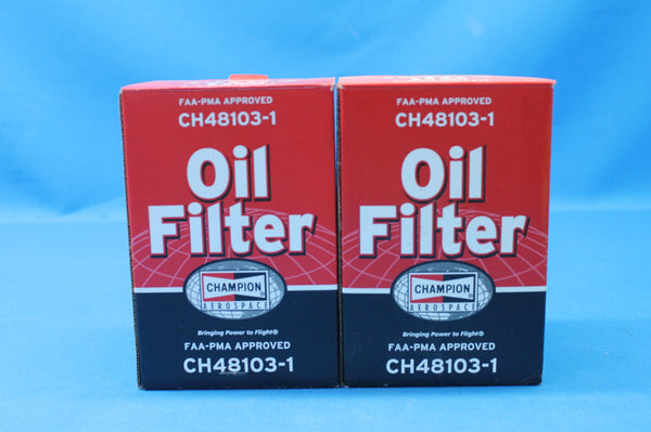 Champion Oil Filter P/N: CH48103-1 13/16 - 16 (26651)