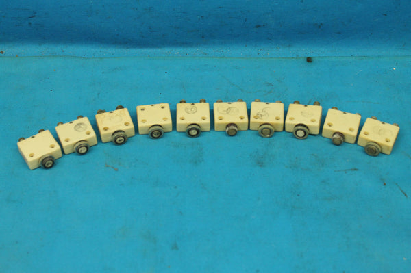 Lot of 10 Mechanical Products 5 Amp Circuit Breakers P/N: MP-1600T-5 (25215)