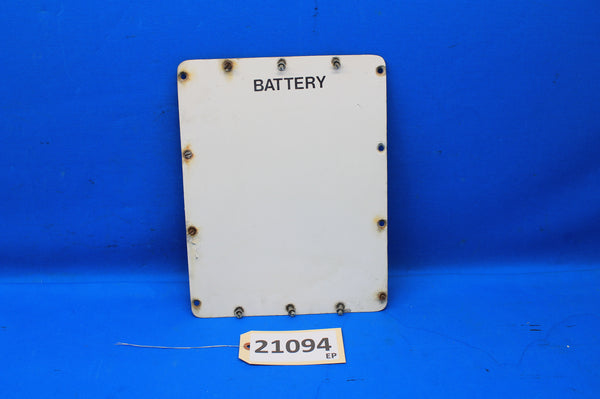 Cessna 414 Battery Box Cover P/N: 5011152-1 (21094)