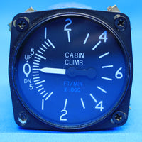 Aero-Mach Cessna Cabin Rate of Change Indicator C668517-0201 (23239)