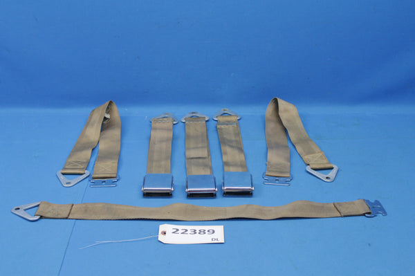Piper Comanche Beams Safety Belt Assembly P/N: 300 SM-1 (22389)