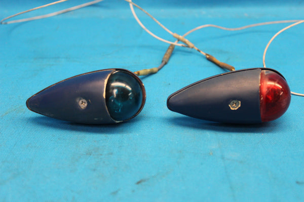 Piper PA-28-180 Grimes Left & Right Navigation Lights P/N: A1285-0-12 (26539)