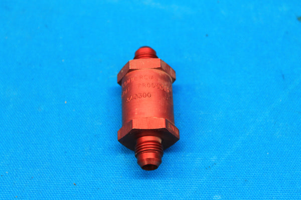 Commercial Aircraft Products Fuel Check Valve P/N: 340300 (21220)