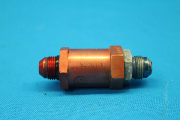 Commercial Aircraft Products Fuel Check Valve P/N: 340100 (25152)