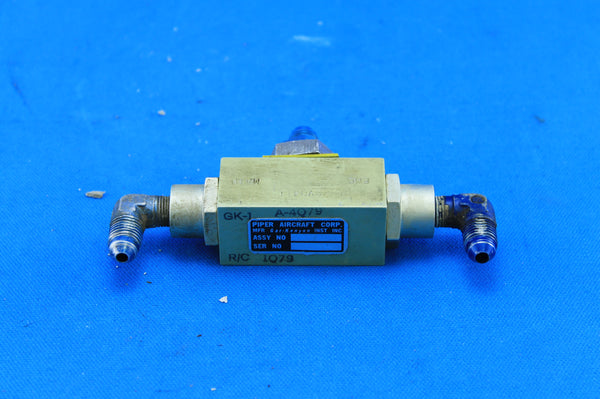 Piper PA-23-160 Gar-Kenyon Emergency Gear Extension Valve P/N: 32803-00 (21286)
