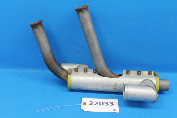 Aircraft Exhaust Stack and Shroud P/N: 4-1366 , 4-1368 (22033)