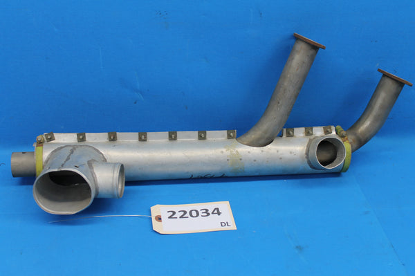 Aircraft Exhaust Stack and Shroud P/N : 4-1367 (22034)