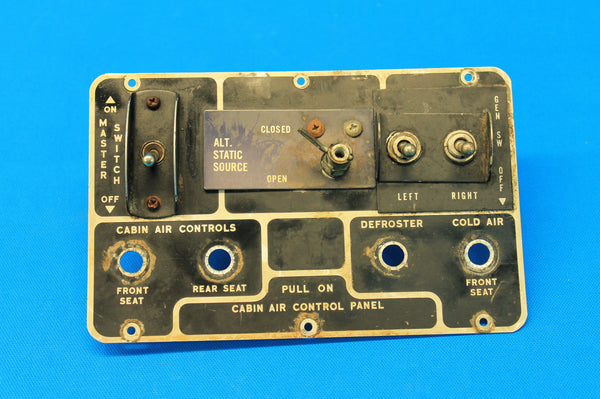 Piper PA-23-160 Switch Panel P/N: 18515-02, 19065-03 (21323)