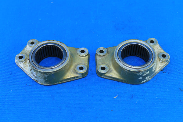 Pair of Cessna 320E Nose Gear Shock Strut Retainers P/N: 0842007-1 (21343)