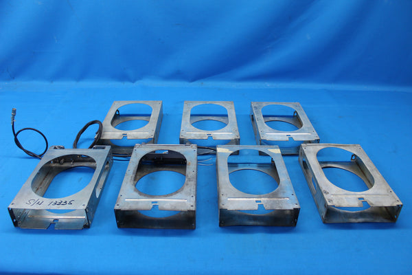 Lot of 7 Bendix King KX-155 Racks (26757)