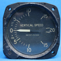 United Instruments Vertical Speed Indicator P/N: CA-52-1A (23536)