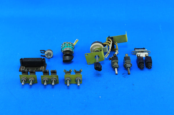 Lot of Piper PA-23-160 Electrical Parts (21375)