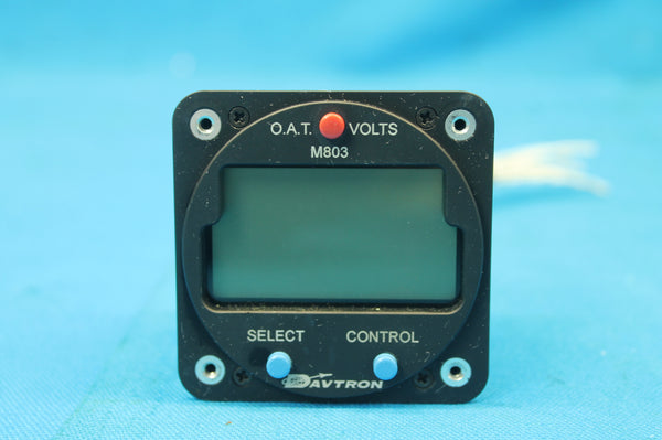 Davtron Chronometer Digital Clock P/N: M803 Piper PA-23-250  (25693)