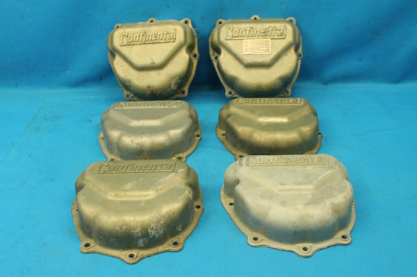 Lot of 6 Continental Rocker Box Covers P/N: 625615-L  (25708)