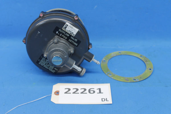Airesearch Outflow Valve P/N: 103576-16 (22261)