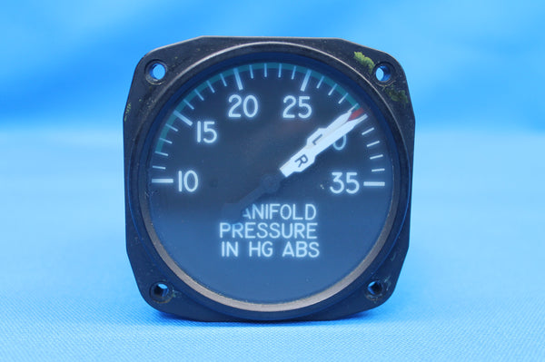 United Instruments Manifold Pressure Indicator P/N: 6022 PM-42-11 (26201)