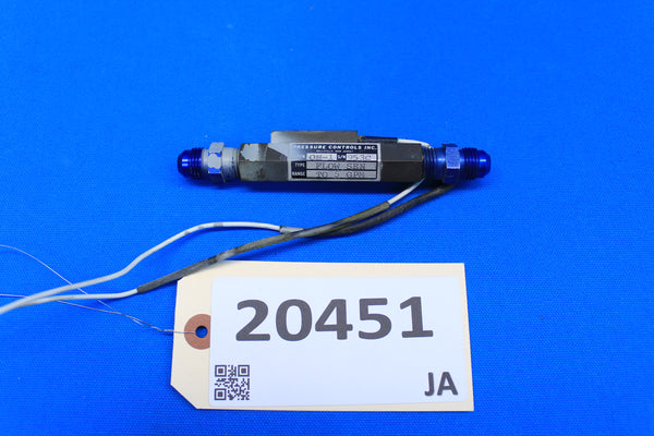 Pressure Controls Flow Sensor P/N: ON-1 Cessna 320E (20451)