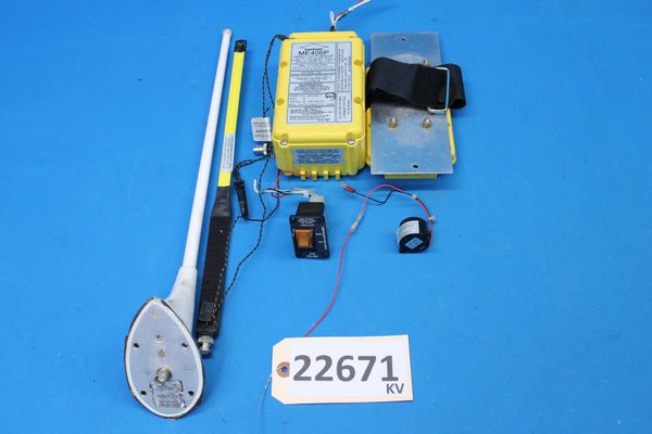 Artex Aircraft ME 406P ELT w Remote Switch P/N: 453-6611 (22671)