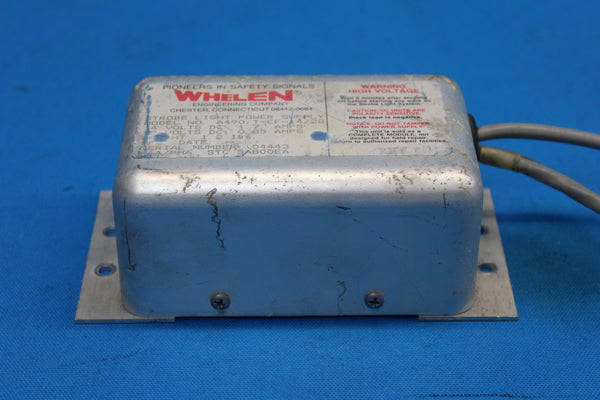 Whelen Strobe Light Power Supply Model: A490 (26073)