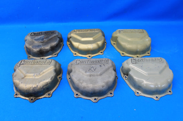 Set of 6 Continental Rocker Box Covers P/N: 625615  625615-L (21503)
