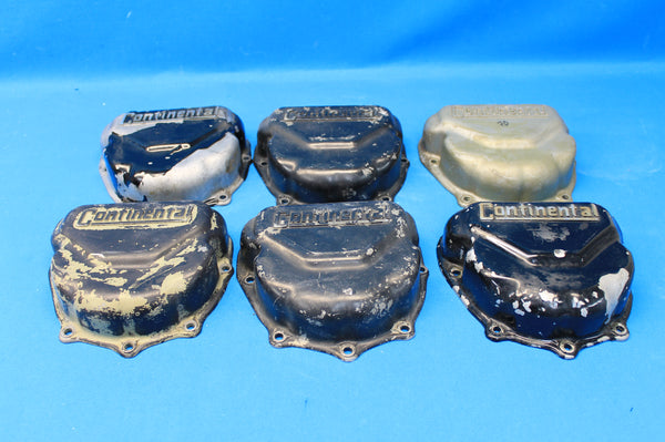 Set of 6 Continental Rocker Box Covers P/N: 625615 (21504)