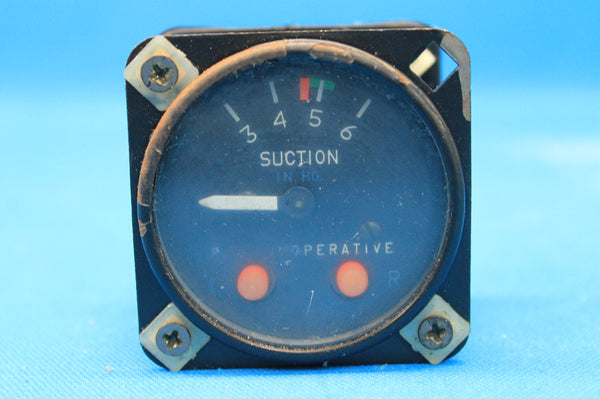 Cessna 414 Suction Gauge P/N: C668519-0101 (21522)