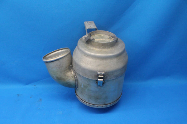 Cessna 402B Left Turbo Induction Air Canister Assy P/N: 0850344-129 (26277)