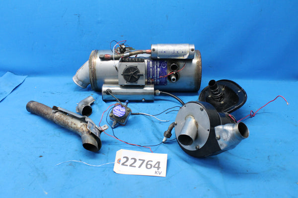 C&D Associates Aircraft  Combustion Heater CD 25k P/N: C 011040-1 (22764)