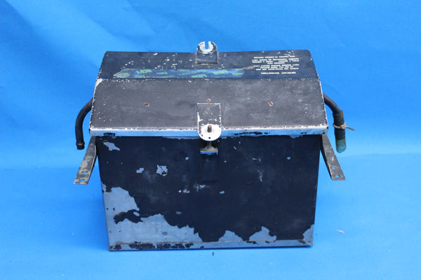 Piper PA-23-250 Aztec Battery Box Assembly with Lid P/N: 17564-00 (25531)