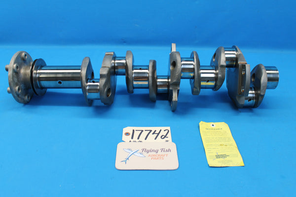 Lycoming TIO-541-E1C4 Aircraft Engine Crankshaft Assembly (17742)
