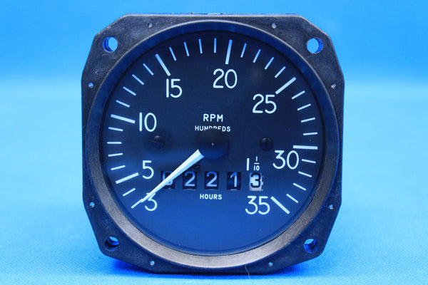 Mitchell Mechanical Recording Tachometer D1-112-5023 98480-23 (20517)