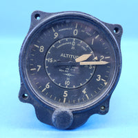 King Altitude Indicator Altimeter US ARMY Vintage Type C-5 (22533)
