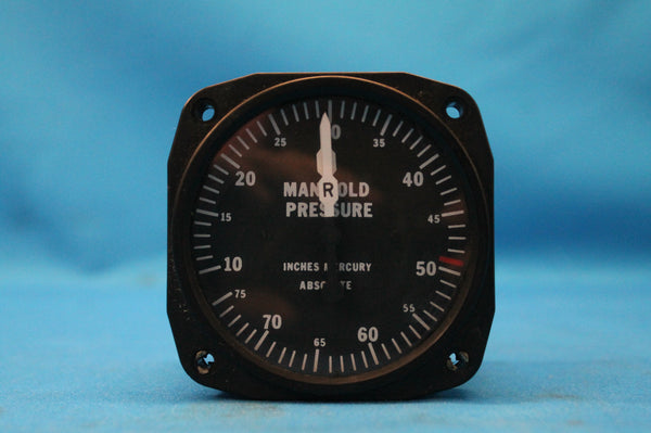 United Instruments Manifold Pressure Indicator PM-42-1A Piper Navajo (26352)