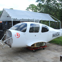 2006 Cirrus SR-20 Fuselage with Parachute CAPS Simulator Project Plane (23277)