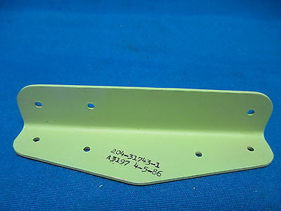 Boeing Aircraft Angle Bracket P/N: 204-31743-1 (6109)