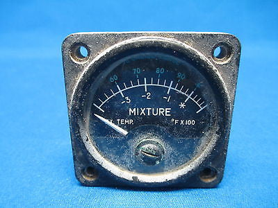 Alcor Mixture Control Indicator S/N: 194  (5540)