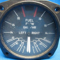 United Instruments Fuel Flow Indicator P/N: 6060-42 Code: G25 Guaranteed (7374)