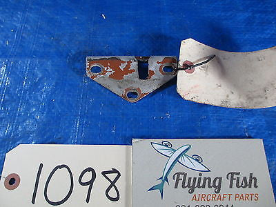Cessna 185 LH Door Escutcheon, P/N: 0711698-3 (1098)