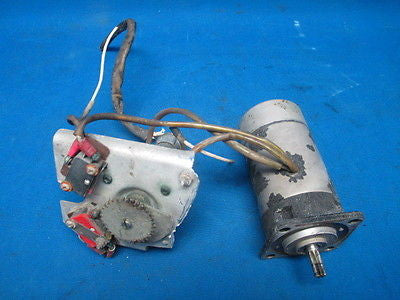 Cessna 310 B 1956 General Electric Direct Current Flap Motor  (7169)