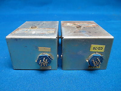 Pair of two Unknown Edo Aire AutoPilot Parts (6006)