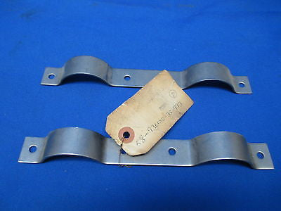 Aircraft Bracket Pair P/N: 58-930000-35-993 Cessna Piper Beechcraft (6653)