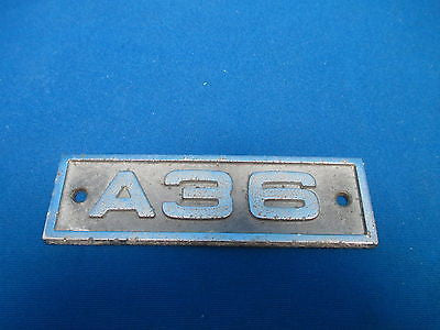 Beechcraft Bonanza A36 Metal Placard (6112)