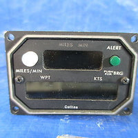 Collins Avionics Remote Readout Unit, Type 339R-20, P/N 622-1959-011 (2924)