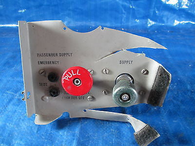 Aircraft Passenger Oxygen Supply Emergency Control Panel Piper Cessna (2272)