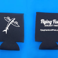 Flying Fish Aircraft Parts Koozie & Bottle Opener