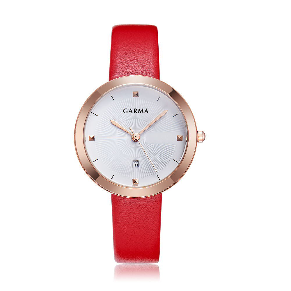 Garma Olga Red/White/Gold