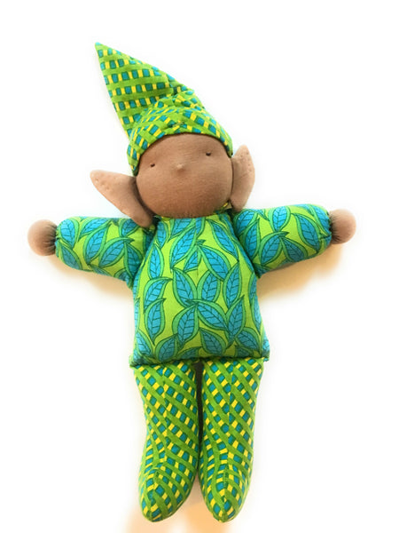 E is for Earth Boy Doll - Small